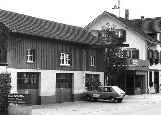 Max Schetter AG, Bild aus der Vergangenheit