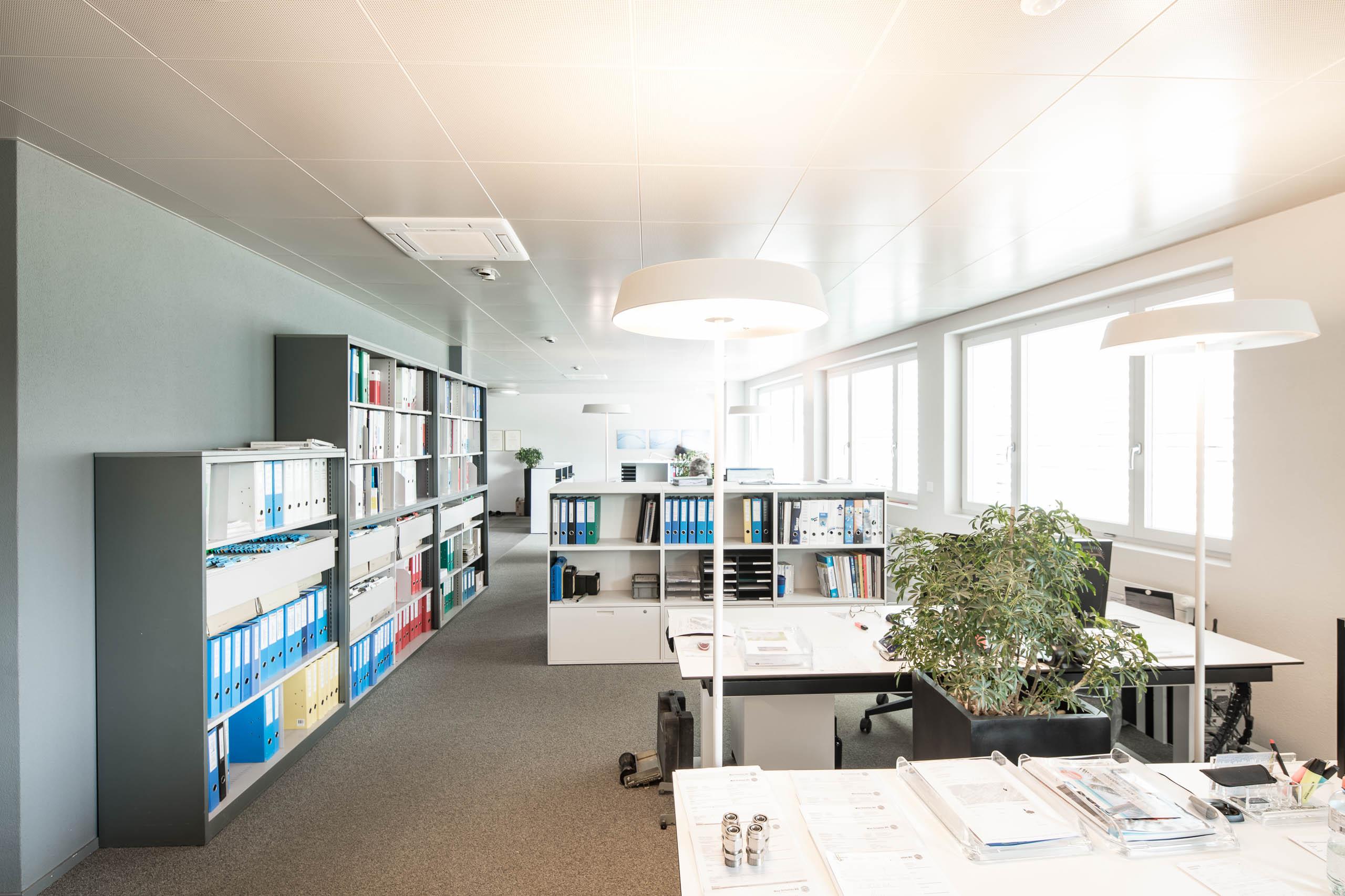 Max Schetter AG, Büro